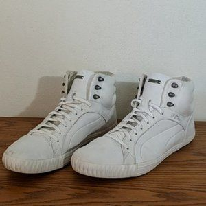 Alexander McQueen Puma White Leather Sneakers